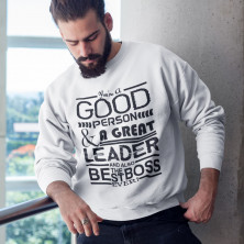 """Bluza """"A Great Leader"""""""